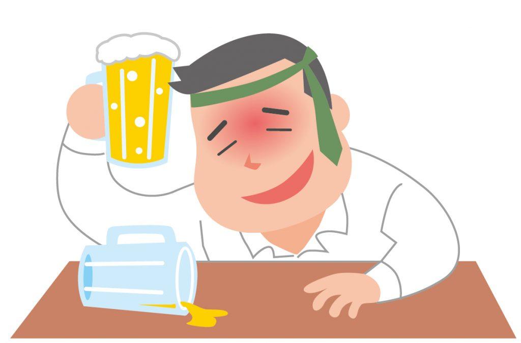 悪酔いしやすい酒の種類は?原因とすぐできる簡単対処法!